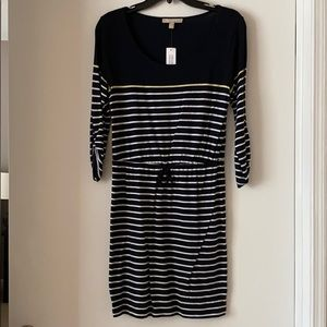 Banana republic navy dress. Size s — new with tags